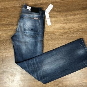 Hudson Byron jeans straight size 30x33 distressed